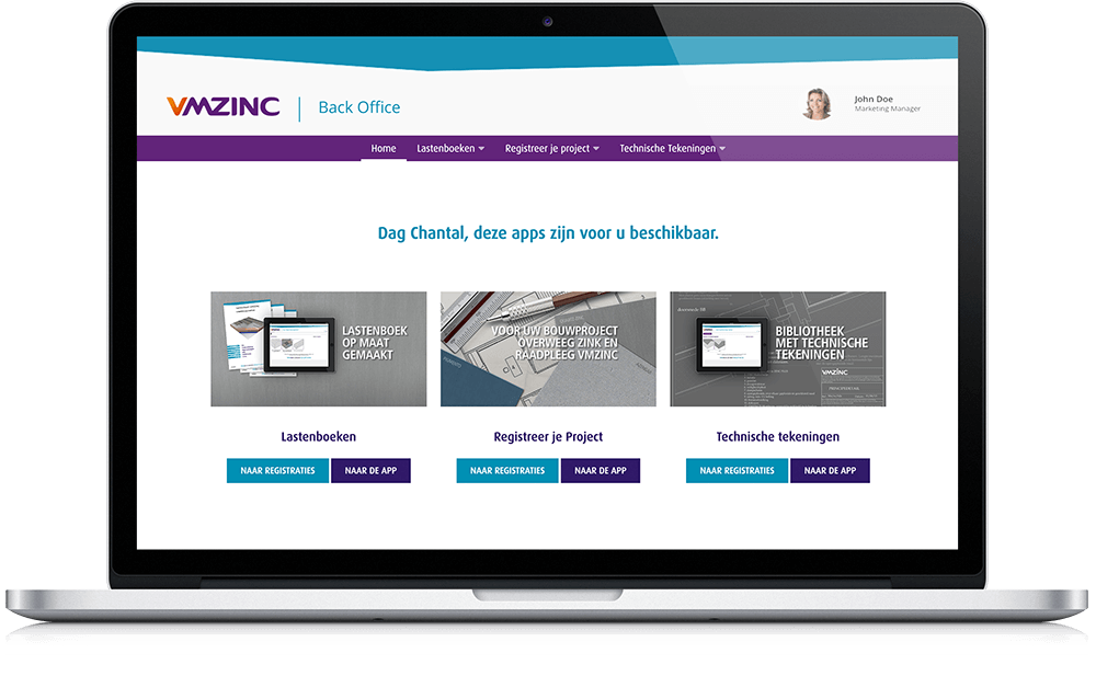 VMZinc connects supply and demand